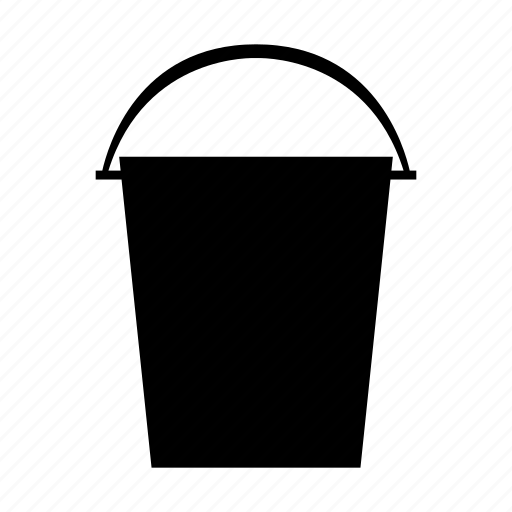 art, brush, bucket, design, internet, paint, web icon
