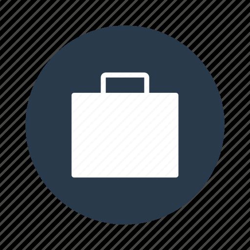 bag, cart, shop, shopping, work icon