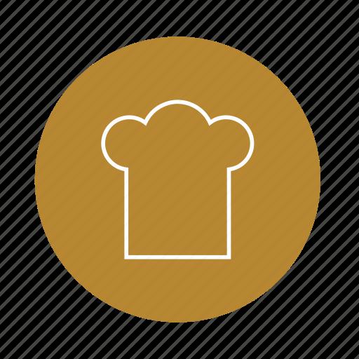 cap, chef, cook, food, hat, kitchen icon