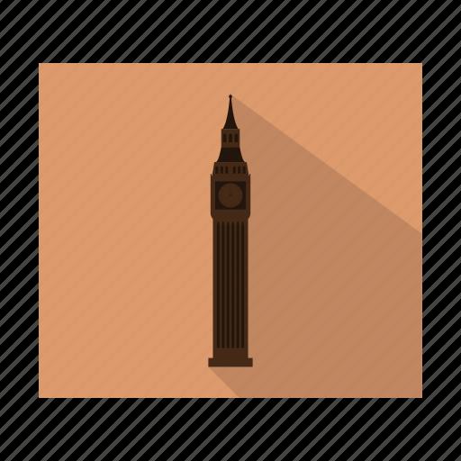 big ben, building, estate, home, house, tower icon