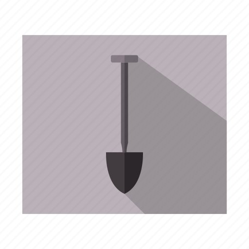 creative, design, shovel, tool, web icon