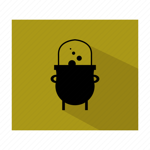 cauldron, ghost, halloween, horror, scary, spooky icon