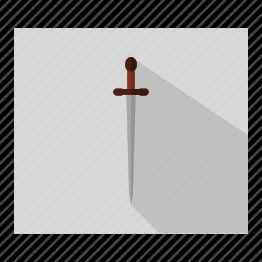 award, badge, gun, military, soldier, sword, weapon icon