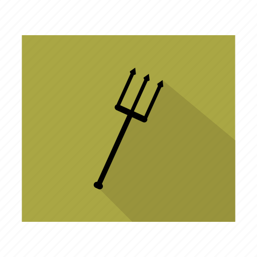coffee, drink, ocean, sea, trident, water icon