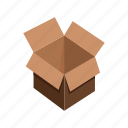 box, car, delivery, package, transport, vehicle icon