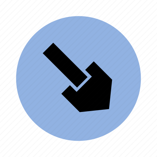 arrow, direction, down, left, location, map, right icon