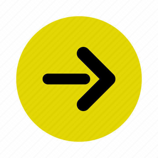 arrow, direction, down, location, map, navigation, right icon