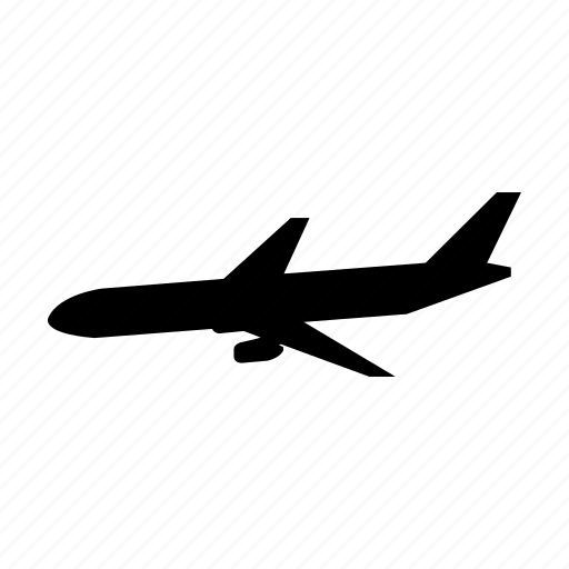 plane, transport, transportation, travel, vacation, vehicle icon
