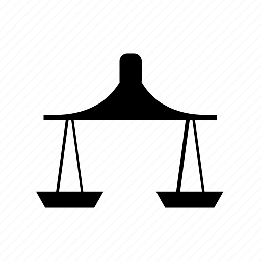 balance, justice, law, measure, scale, weight icon