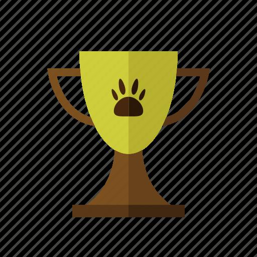 animal, champion, metal, pet, trophy icon