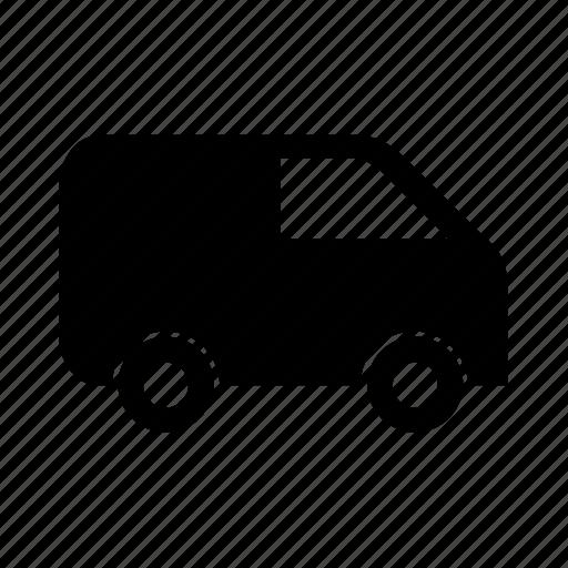 auto, car, transport, transportation, van, vehicle icon