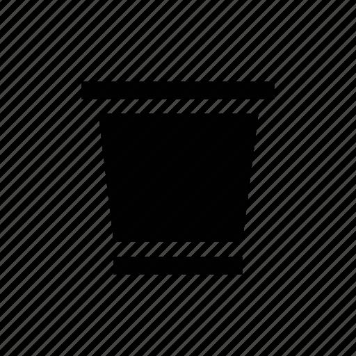 bin, delete, dustbin, edit, empty, erase, garbage, recycle, remove, trash, wipe icon