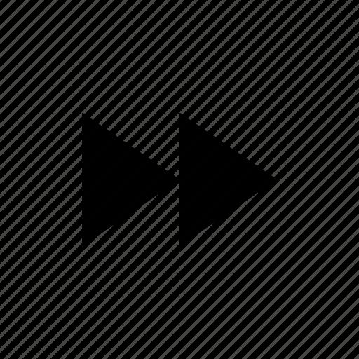 arrow, audio, fast, fast forward, forward, music, next, next track, right icon