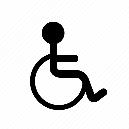 disable, disabled, handigap, man, person, wheel chair, wheel-chair icon