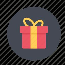 birthday gift, celebrate, celebration, christmas gift, gift, gift box, present icon