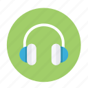 earphone, headphone, headphones, listen, music, sound icon
