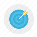 aim, goal, target, target arrow, target shooting, targeted, targeting icon