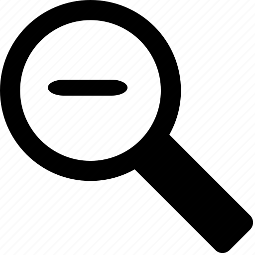find, in, magnifying glass, out, search, view, zoom icon