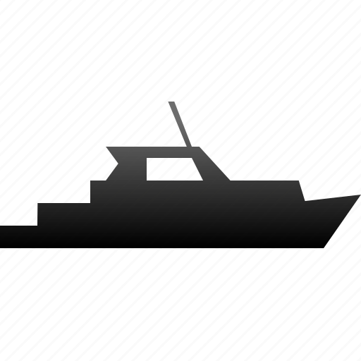 boat, guard, ship, transfer, transportation, yacht icon