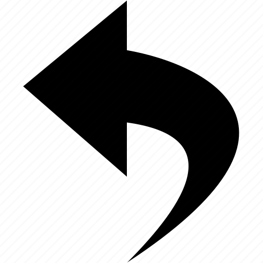 arrow, back, left, restore, undo icon