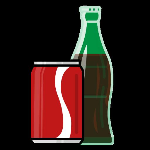 beverage, bottle, can, coke, drink, food, vectr icon
