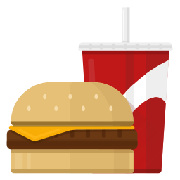 food, hamburder, v1 icon