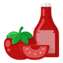 food, ketchup, v1 icon