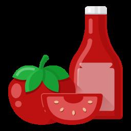 food, ketchup, v1 icon