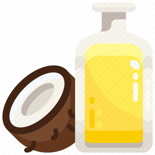 coconut, dermathology, grooming, oil, skin, skincare, wellness icon