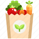 diet, food, healthy, supermarket, vegan, vegetables, vegetarian icon