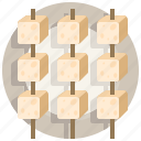cultures, recipe, soy, stinky, tofu, tradition, traditional icon