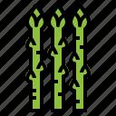 asparagus, cook, food, vegan