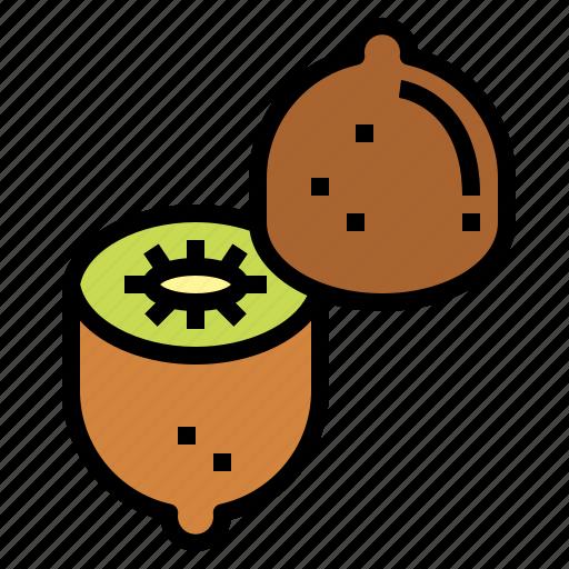 Fruit, kiwi, organic, vegan icon - Download on Iconfinder