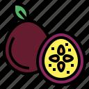 fruit, organic, passion, vegan