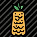 food, fruit, organic, pineapple