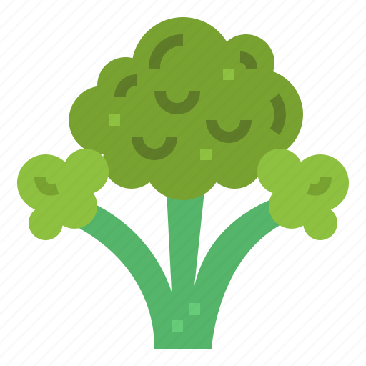 broccoli, food, supermarket, vegan icon