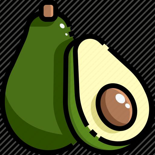 Avocado, diet, food, market, supermarket, vegan, vegetarian icon - Download on Iconfinder