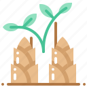 bamboo, harvest, vegetable, vegetarian, veggie icon