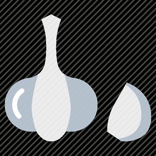 garlic, harvest, vegetable, vegetarian, veggie icon