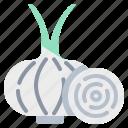 harvest, onion, vegetable, vegetarian, veggie icon