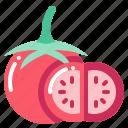 harvest, tomato, vegetable, vegetarian, veggie icon