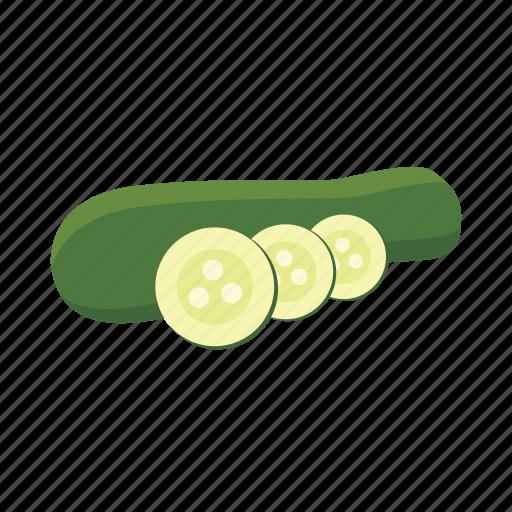 food, marrow, squash, vegetable, vitamin, zucchini icon