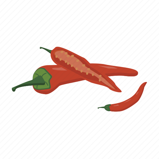 chili, food, hot, pepper, spicy, vegetable, vitamin icon