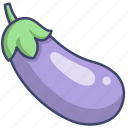 food, eggplant, aubergine, vegetable