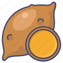 potato, sweet, vegetable, yam icon