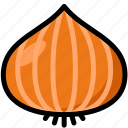 food, healthy, onion, organic, vegan, vegetable, vegetarian icon