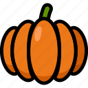 food, healthy, organic, pumpkin, vegan, vegetable, vegetarian icon