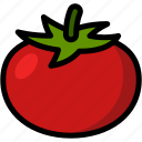 food, healthy, organic, tomato, vegan, vegetable, vegetarian icon