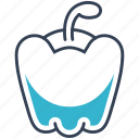bell, food, pepper, vegetables icon