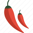 chili, food, pepper, vegetables icon